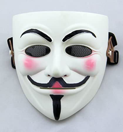 V for Vendetta Mask Guy Fawkes Anonymous Costume Mask