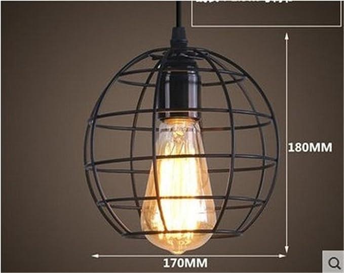 Lampadario Stile Rustico : Shengye stile rustico plafoniera lampada a sospensione retrò