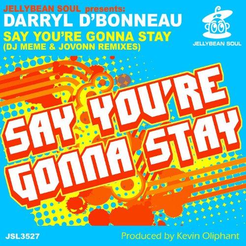 Say Youre Gonna Stay  Dj Meme   Jovonn Remixes