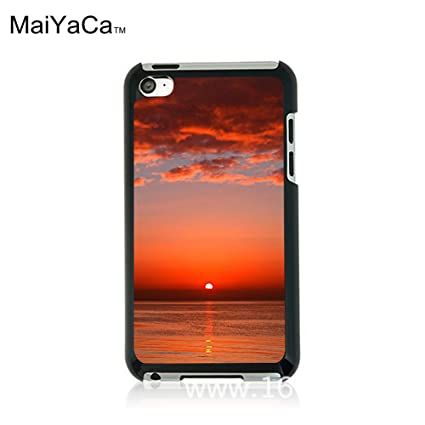 Amazoncom Maiyacatm M84405 Bloody Red Ocean Sunset Hd