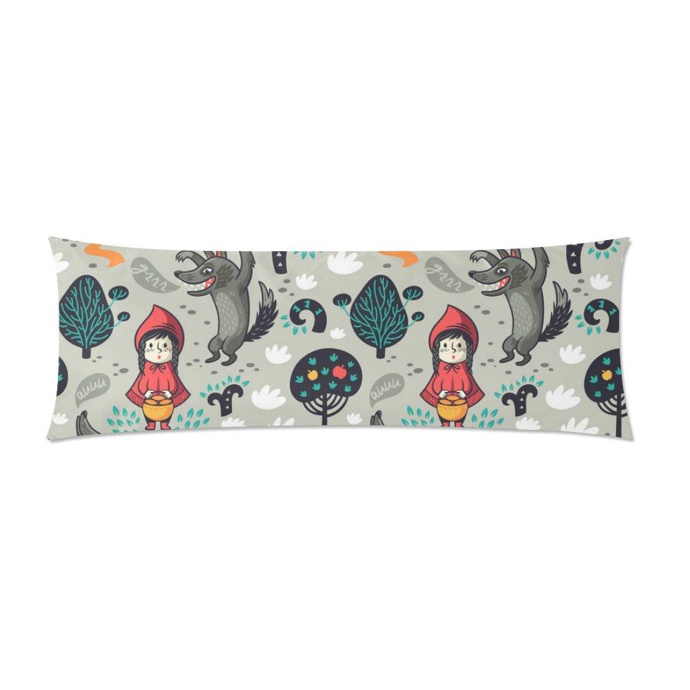 Wonder Woman Body Pillow.Amazon Com Interestprint Body Pillow Cover Little Red