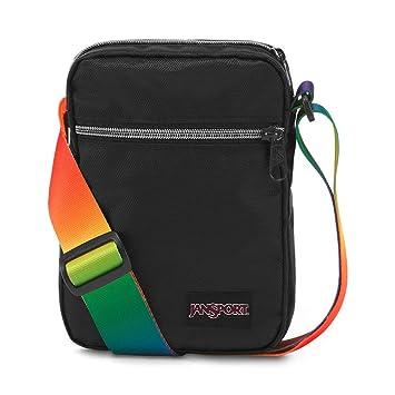 41a2057d3 Amazon.com   JanSport Weekender FX Crossbody Mini Bag - Rainbow Webbing    Casual Daypacks