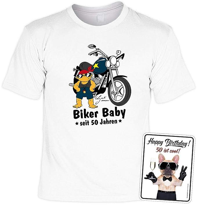 T-Shirt zum 50.Geburtstag Geburtstagsshirt Geschenk 50 Sprüche T-Shirt 50 Jahre