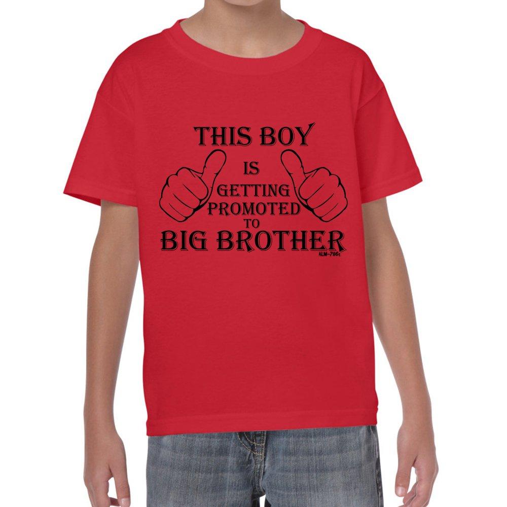 Promoted to Big Brother tshirt-Boys-Kids Funny Sayings Slogans tshirts Starlite