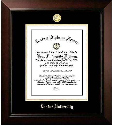 Ocm Diploma Frames Lander University Bearcat Displays Diploma Certificate 14 X 11 Home Office Office Professional Education Framed Diploma Graduation Gifts Custom Frame Wall Decor