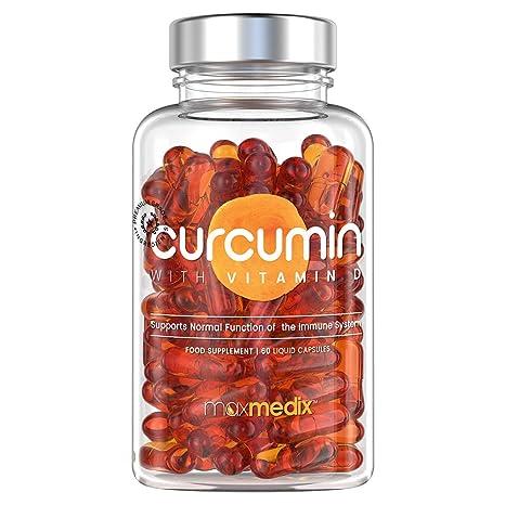 Curcumina Con Vitamina D - Suplemento Natural De Curcuma - Propiedades Anti-inflamatorias, Anti