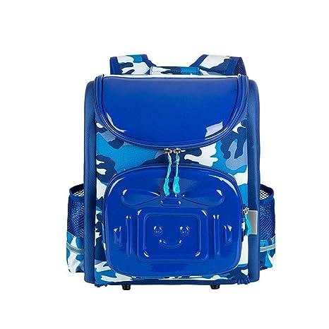 edbbc9a523c8f Westtreg New Boy School Bag mochila ortopédica para niños Cartoon Robot mochilas  de alta calidad a