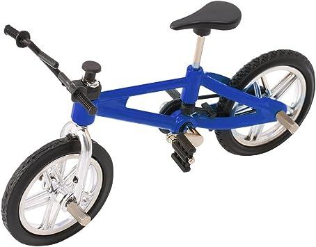 Autone Modelos de Aleación de Dedo de Bicicleta Mini MTB BMX Fixie Bike Creative Game Niños Juguete Regalo, azul oscuro, 3.93 * 2.75inch: Amazon.es: Deportes y aire libre