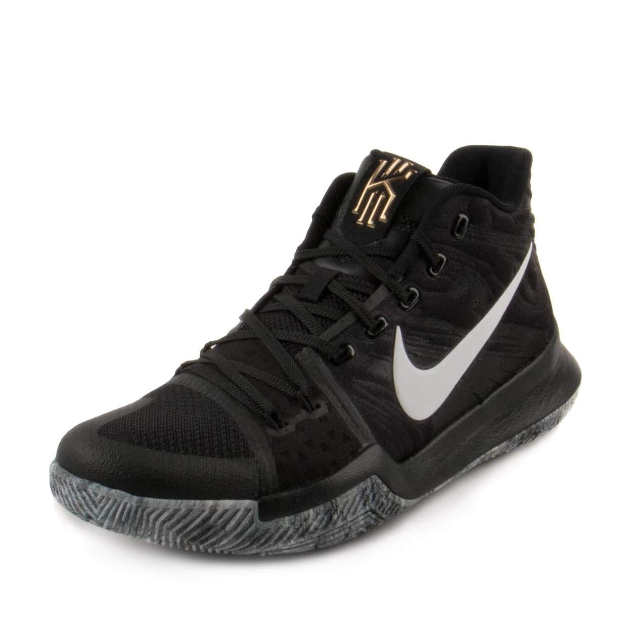 Nike Mens Kyrie 3 BHM Black/White Mesh Size 10