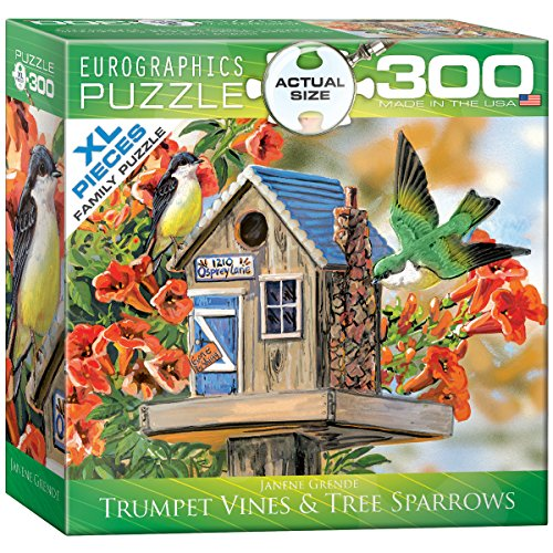 (EuroGraphics Trumpet Vines and Tree Sparrows Puzzle (300-Piece))