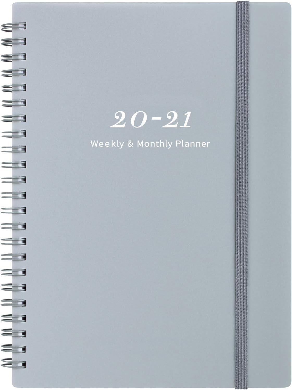 Diario 2020-2021 - Planificador semanal y mensual de 6.25