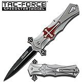 Tac-force RED Cross Folding Blade Pocket Knife