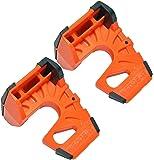 Wedge-It - The Ultimate Door Stop - Orange - TWO PACK