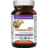 New Chapter Men's Multivitamin, Every Man, Fermented with Probiotics + Selenium + B Vitamins + Vitamin D3 + Organic Non…