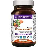 New Chapter Men's Multivitamin + Immune Support, Men's Advanced Multi (Formerly...