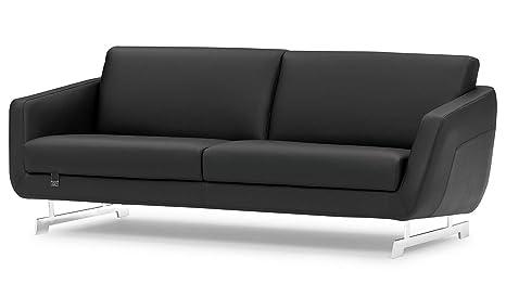 Amazon.com: Zuri Furniture Armondo - Sofá (piel), color ...