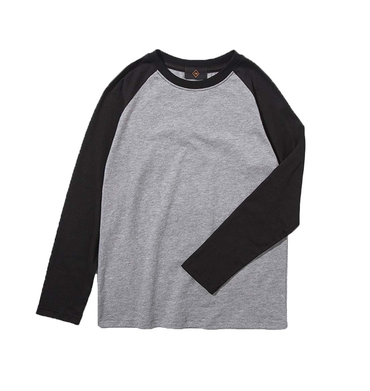 Koupa Big Boys Raglan Baseball Jersey T-Shirts 3-13Years