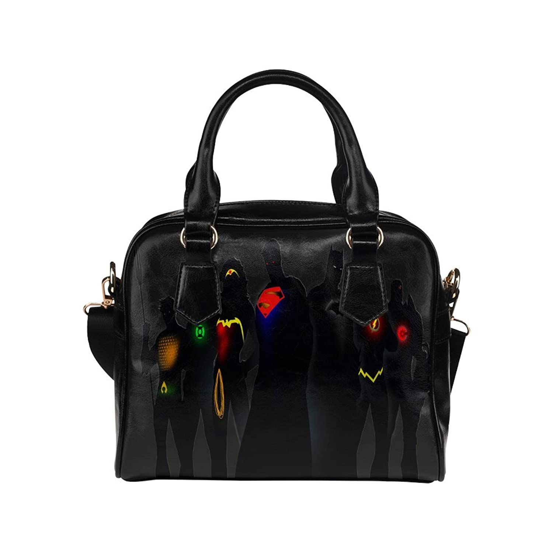 Fashion Tote Handbag Leather Dc Comics Superheroes Shoulder Handbag