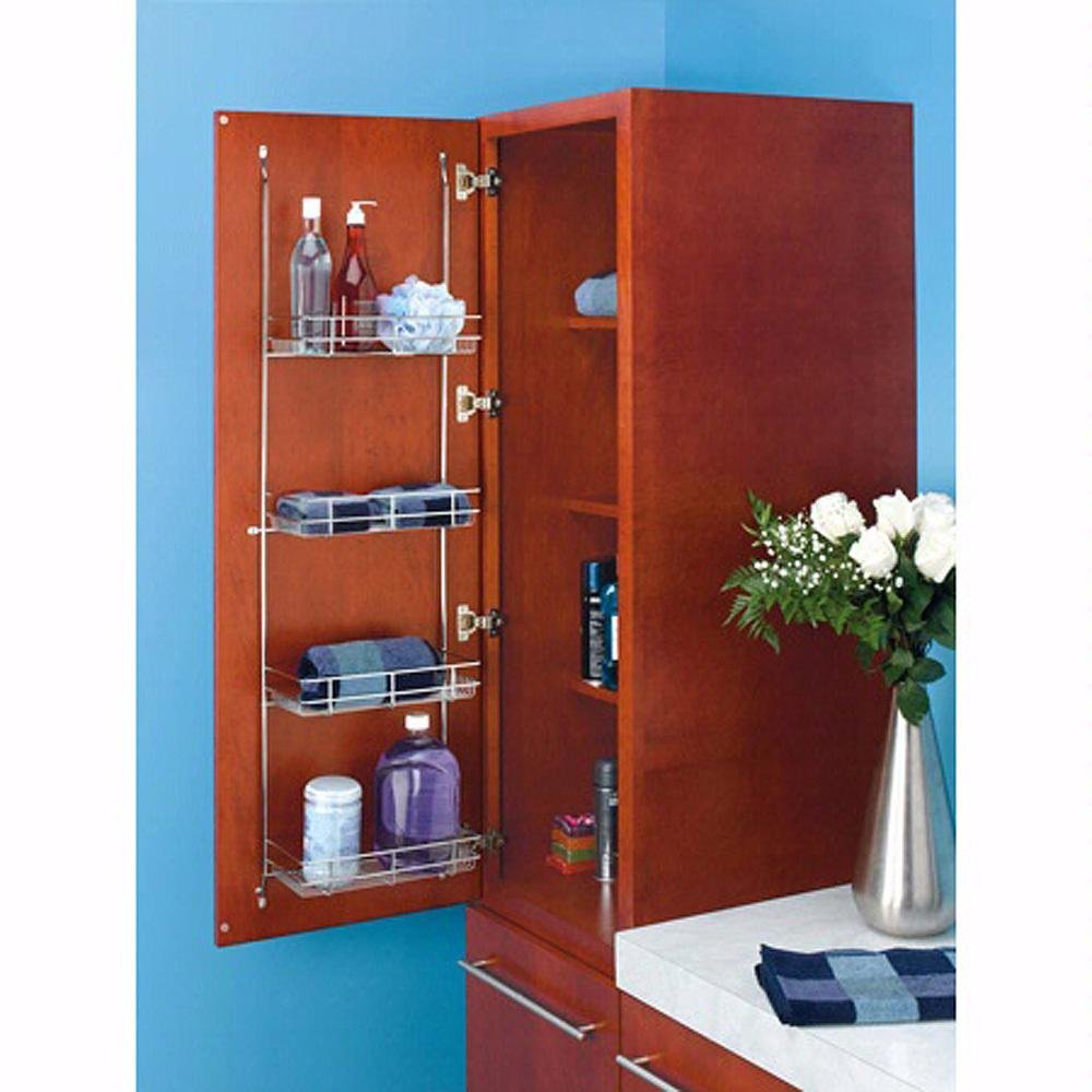Rev-A-Shelf - 5CLR46-52 - Chrome Door Mount Linen Rack