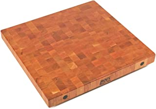 product image for John Boos CHYBBIT2-2425 End Grain Butcher Block Island Top, 24 x 25 x 2.25, Cherry Wood