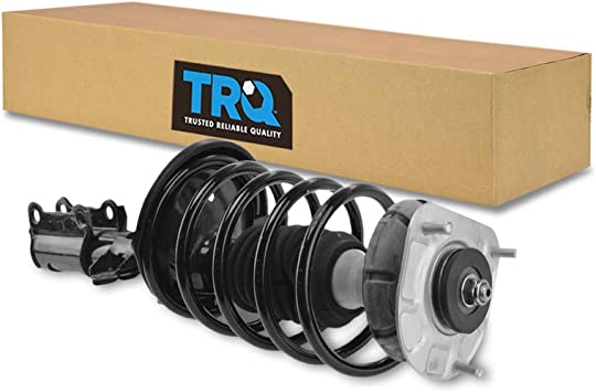 TRQ Front Complete Shock Strut Spring Assembly LH RH Pair for S60 V70 S80