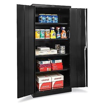Hallowell Industrial Storage Cabinet   36u0026quot;Wx24u0026quot;Dx78u0026quot;H ...