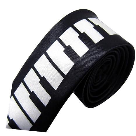 YYB-Tie Corbata Moda Corbata de Piano para Hombre, Estilo ...