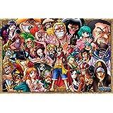 1000 pièce puzzle ONE PIECE amour et la passion de la robe de pays Rosa (50x75cm)