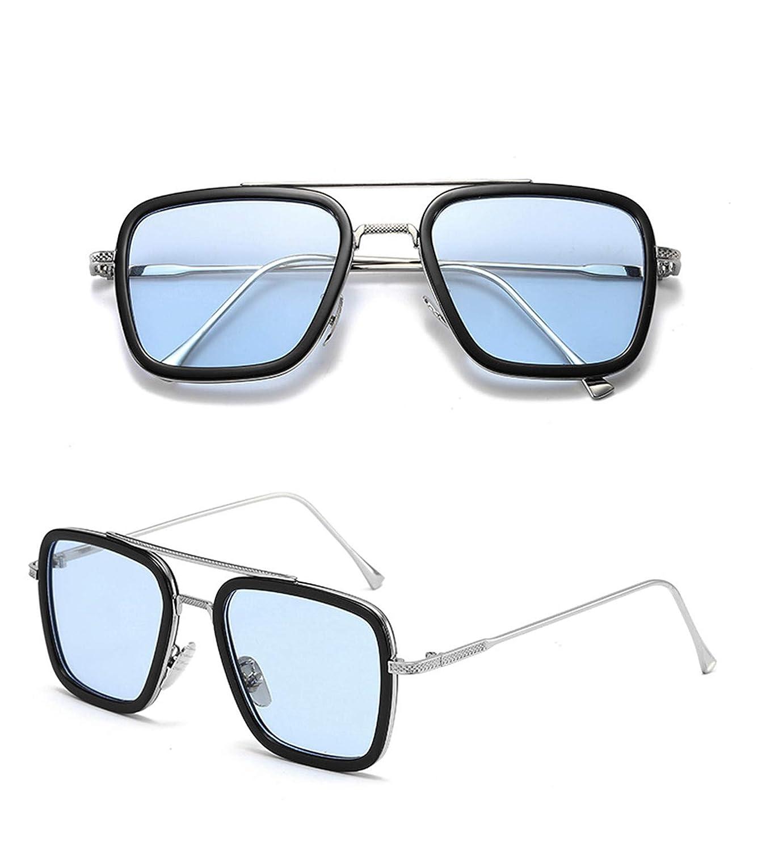 Gafa de Sol Hombre de Araña EDITH Sunglasses Tony Stark Retro Glasses Hombre de Hierro Lejos de Casa para Hombre&Mujer Verano Vintage Cosplay Diario ...