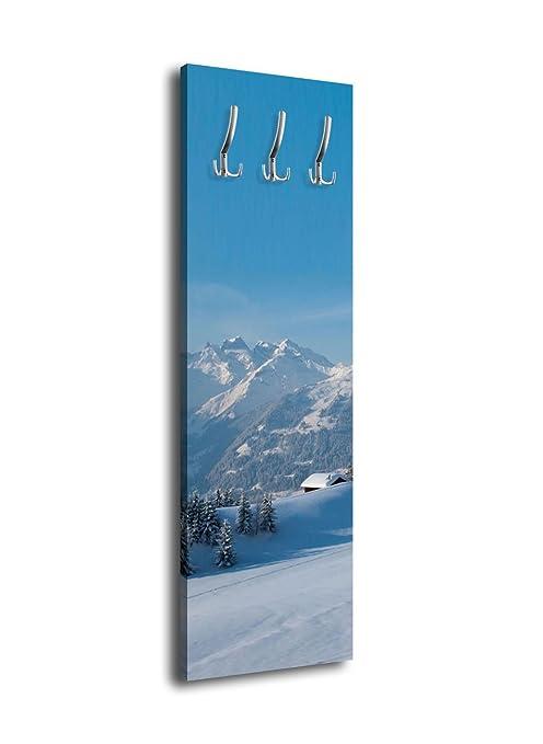 wandmotiv24 Perchero con diseño versch neite Alpen G340 40 x ...