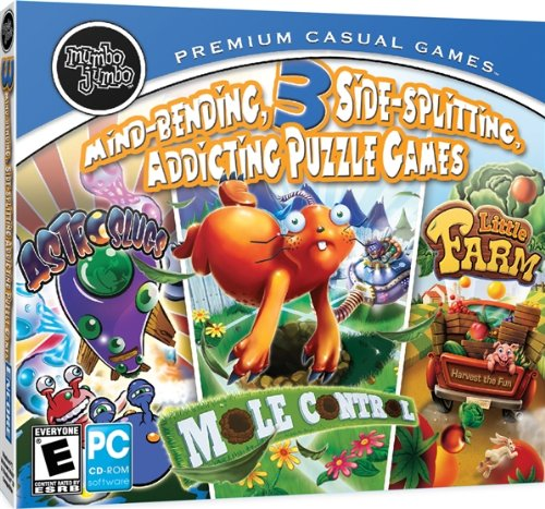 Amazon 3 Addicting Games Puzzle Pack Jewel Case Software