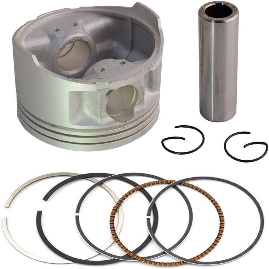 AHL Piston /& Piston Rings Pin Clips Kit for Yamaha TTR230 TT-R230 2005-2015 STD 70mm