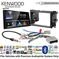 Volunteer Audio Kenwood DMX7704S Double Din Radio Install Kit with Apple CarPlay Android Auto Bluetooth Fits 2007-2010 Edge (Without factory amplified sound)