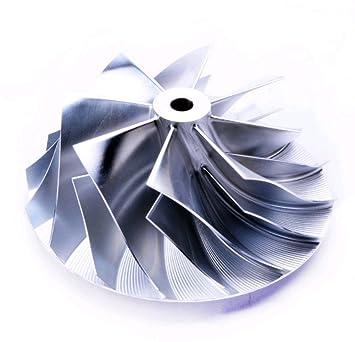 Turbo Billet Compressor Wheel For BorgWarner S500 Komatsu (97.75/131.5) 8+8