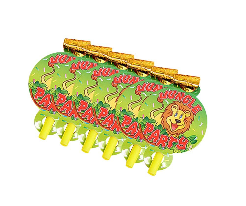 Animal, 25Pcs Lovely Non-toxic Noisemakers Party Favors For Kids by Panda Superstore (Image #1)
