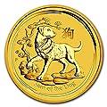 2018 AU Australia 1 kilo Gold Lunar Dog BU Gold Brilliant Uncirculated