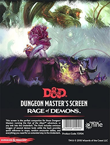 Rage of Demons DM Screen