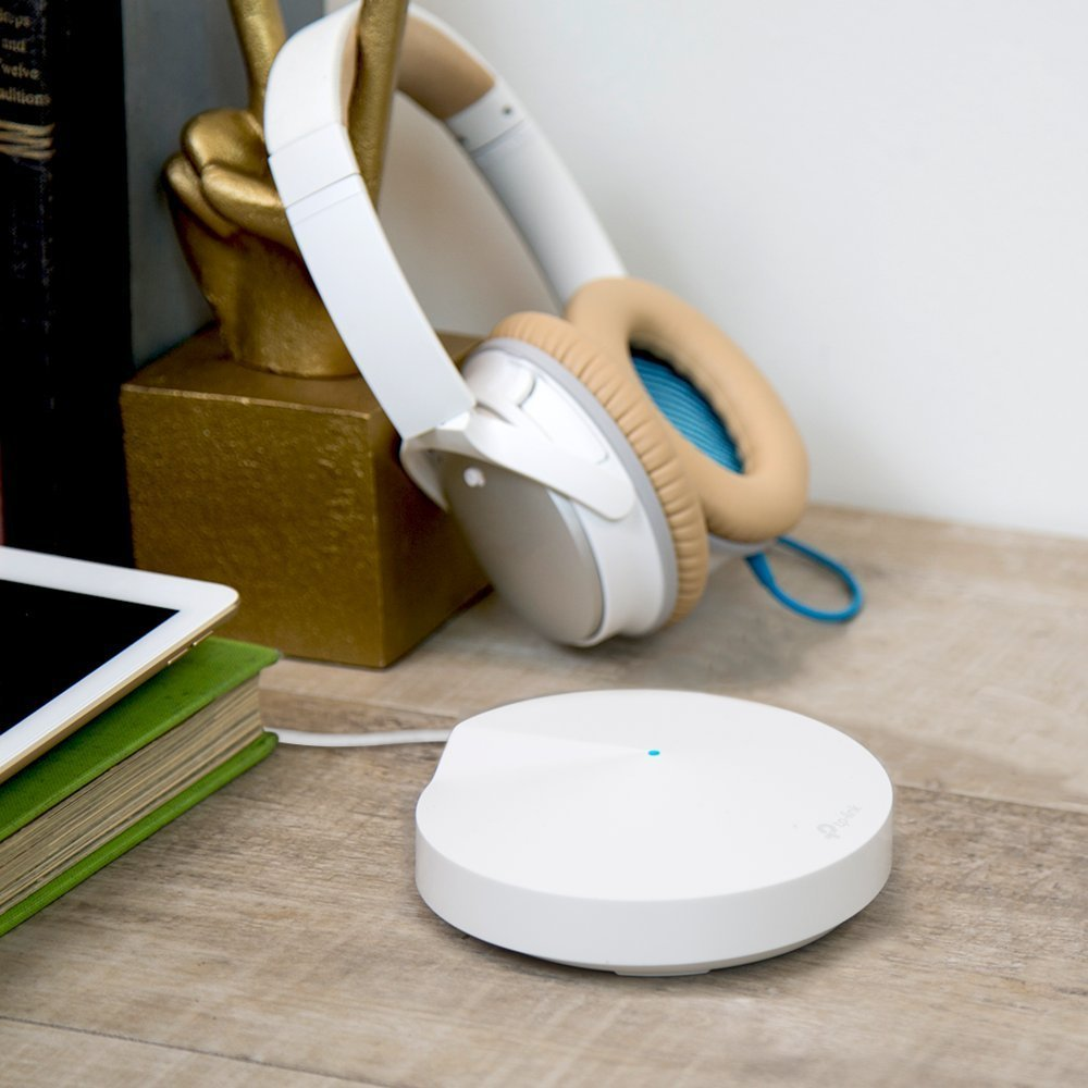 TP-Link Deco Whole Home Mesh WiFi System Homecare Support, Seamless Roaming, Dynamic Backhaul, Adaptive Routing, Works with Amazon Alexa, Up to 5,500 sq. ft. Coverage M5