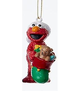 Amazon.com: Elmo Christmas Ornament with FREE Personalization ...