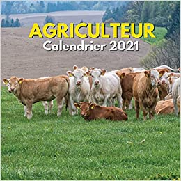 Agriculteur   Calendrier 2021: Cadeau Homme Femmes Agriculteur