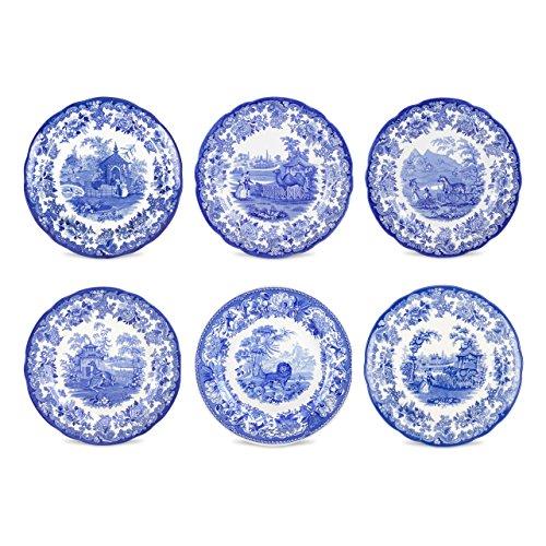 Blue and White Plates  sc 1 st  Amazon.com & Blue and White Plates: Amazon.com