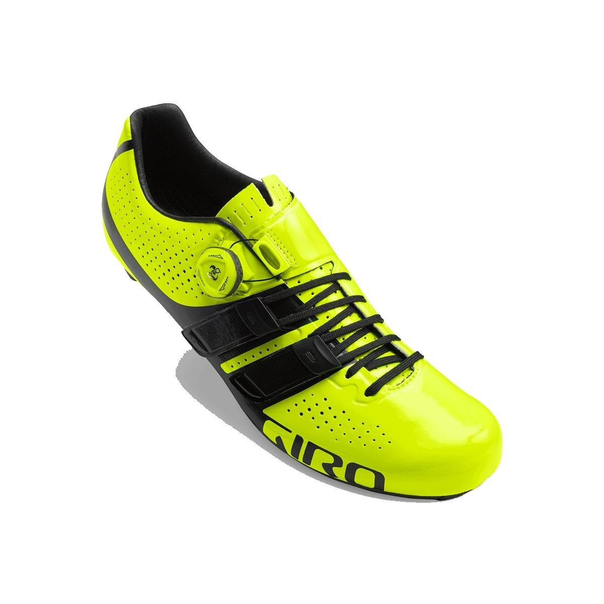 Giro Factor techlace Cycling Shoes – Men 's B075RQLQ7L 41.5 M EU|Highlight Yellow/Black Highlight Yellow/Black 41.5 M EU