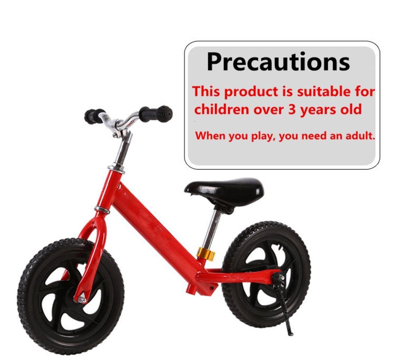 Kind Kein Pedal Fahrrad Slide Zwei Runden Kind Zwei Runden Balance Auto Geeignet für Kinderhöhe  85-110CM