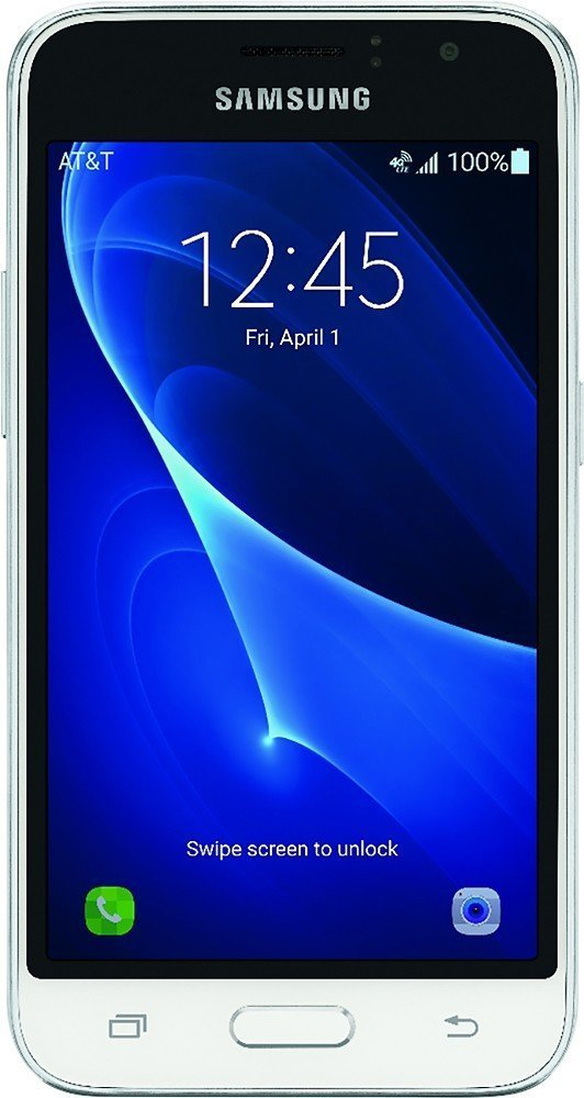 AT&T GoPhone - Samsung Galaxy Express 3 4G LTE with 8GB Memory Prepaid Cell Phone