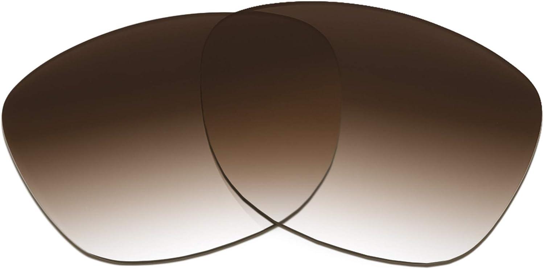 Revant Verres de Rechange pour Bose Alto S/M - Compatibles avec les Lunettes de Soleil Bose Alto S/M Dégradé Marron - Non Polarisés