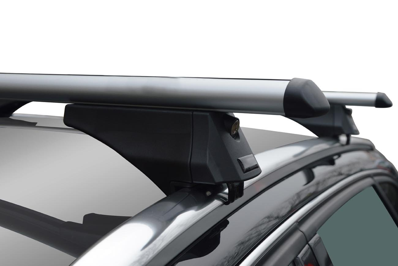 VDP Alu CA320 Dachbox Dachtr/äger Tiger Mitsubishi ASX ab 2010 aufliegende Dachreling