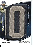 Football NFL 2016 Immaculate Patches #61 Alex Collins MEM 2/10 Seahawks