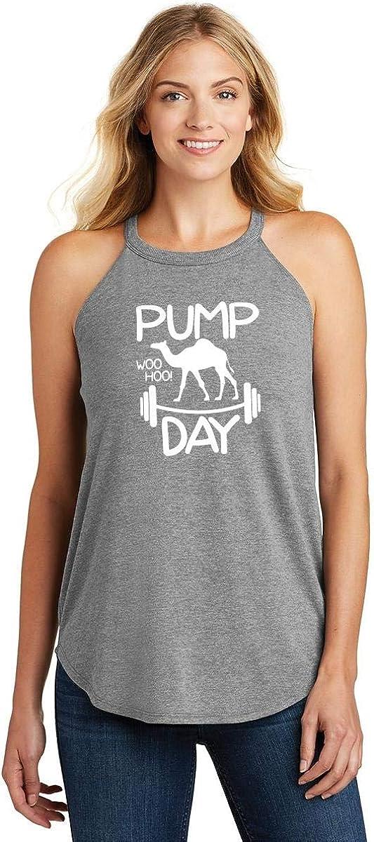 Comical Shirt Ladies Pump Day WooHoo Rocker