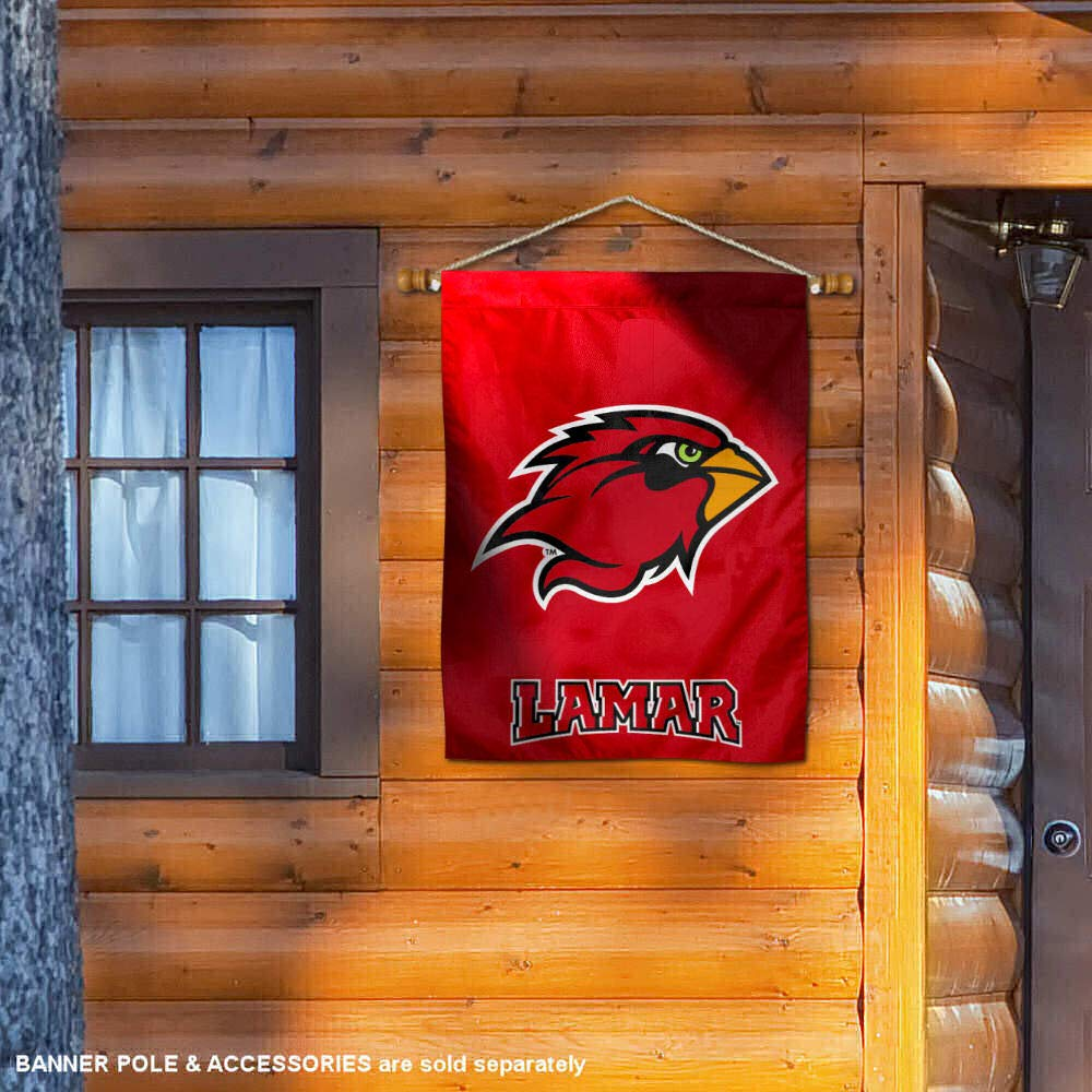 College Flags and Banners Co Lamar Cardinals House Flag