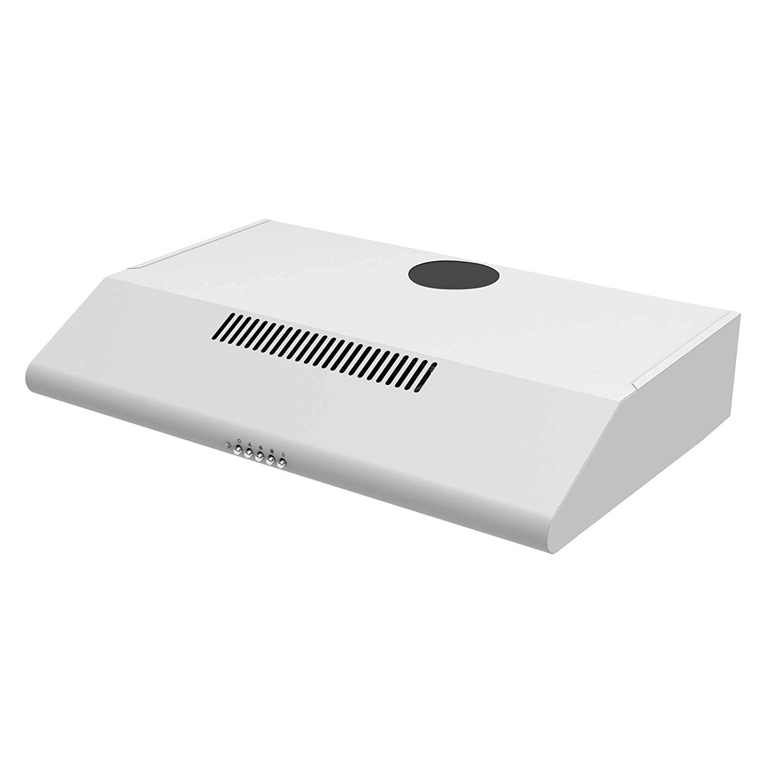 Cookology STAND600WH White Conventional Cooker Hood | 60cm Visor Extractor Fan